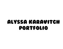 Alyssa Karavitch Portfolio Video Production