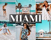 Free Miami Mobile & Desktop Lightroom Preset
