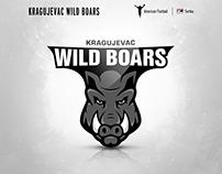 Kragujevac Wild Boars | logo redesign