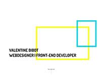 Website - Valentine Bibot
