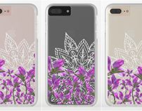 Mandala + Vines iPhone Cases