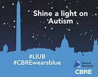 CBRE - Shine a Light on Autism
