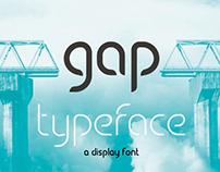 GAP typeface