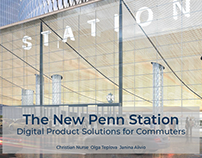 The New Penn Station: Digital Product Solutions