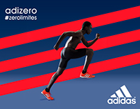 RUNNING ADIZERO by ADIDAS