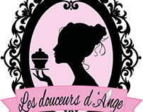 """Logotype """"Les douceurs d'Ange"""""""