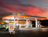 Posto XV - Architectural Photography for a Gas Station