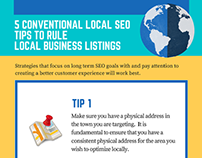 5 Local SEO tips to rule Local Business Listings