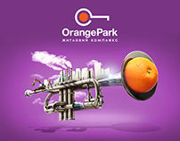 "Advertising campaign for ""Orange Park"""