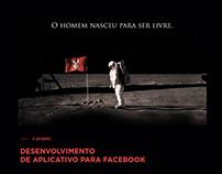 App O HOMEM NASCEU PRA SER LIVRE