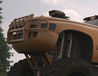 Automotiv rendering