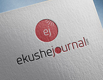 ekushe journal logo design