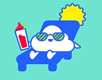 Sticker Design : Weather Cast
