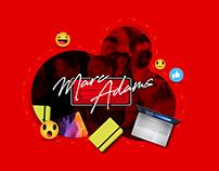 Marc Adams (Branding, Social Media y diseño gráfico).