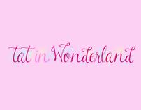 Création du site Internet Tat in Wonderland