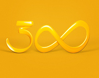 Redesign Logo 300 Comunicação