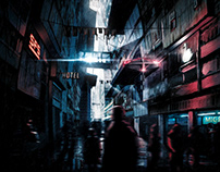 Dystopia - Speedpainting - Photoshop CC 2018
