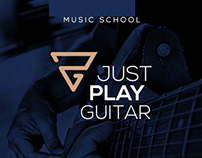 Just Play Guitar // Branding and Stationary