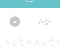 Freedom418 - Brand Identity