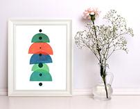 Modern art prints
