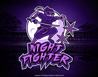 Night Fighter Mascot