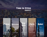Time in Cities
