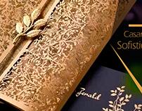 Casamentos Dourados e Sofisticados