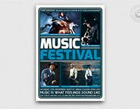 Music Festival Flyer Template V5