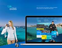 Divers Team / Mergulhadores Da Equipe