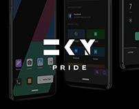 SKY & FLUX UI REDESIGN
