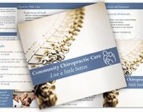 Chiropractor Office Brochure