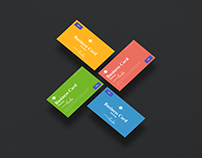 Free Business Card Mockup PSD For Branding