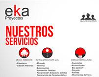 Eka proyectos (Diseño Web)