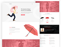 Umbrella - Product Landing Page
