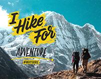Eddie Bauer - Why I Hike