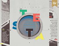Zine architecture// Testa