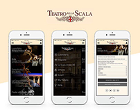 Teatro alla Scala - UI redesign proposal