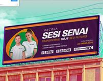 Campanha de Matrículas - Escola SESI SENAI Ceará