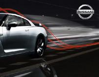 Nissan GT-R Banner 2008 Auto Show