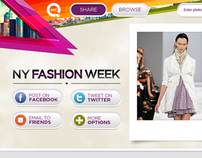 QVC Fashion Week Photo Sharing Website