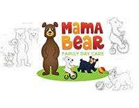 Mama Bear Family Day Care Logo