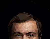 Полигональный портрет • Poly portrait