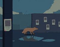 Animation / Stray dog