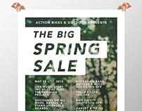 Spring Sale Poster Design