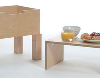 Olit: Night table with shelf