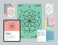 Barcelona Pensa visual identity + poster series