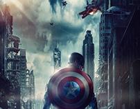 Captain America : Civil War Custom Movie Poster/Promo