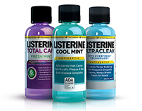 Listerine Travel Size Bottle