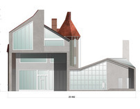 Country House Reconstruction. Variations for Facades.