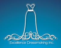 Logo Design for Excellence Dressmaking inc.